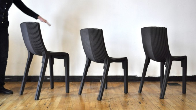 Layer Chair - by DyvikDesign - Collection of three