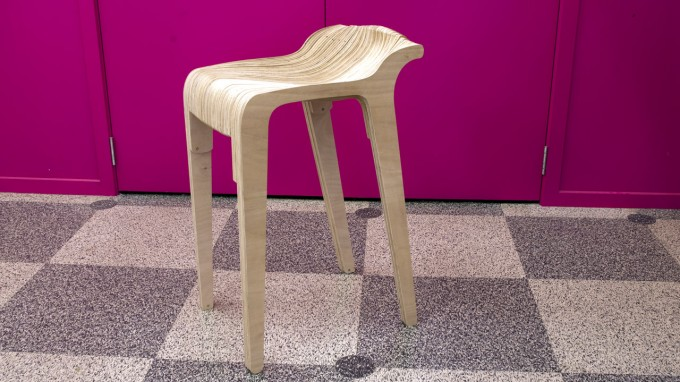 Layer stool by Nick Graham