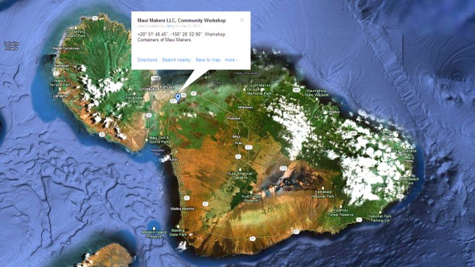 maui makers map
